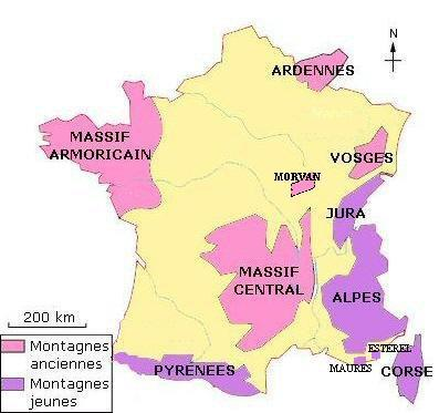 les-massifs-de-france